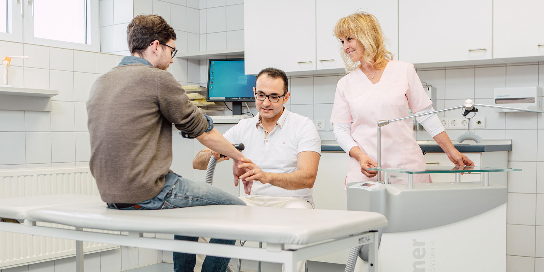 Orthopädie Dinslaken - Praxis - Behandlung