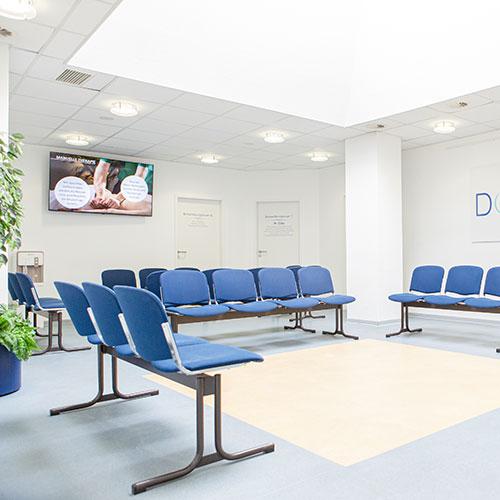 Orthopädie Dinslaken - Praxis - Wartezimmer