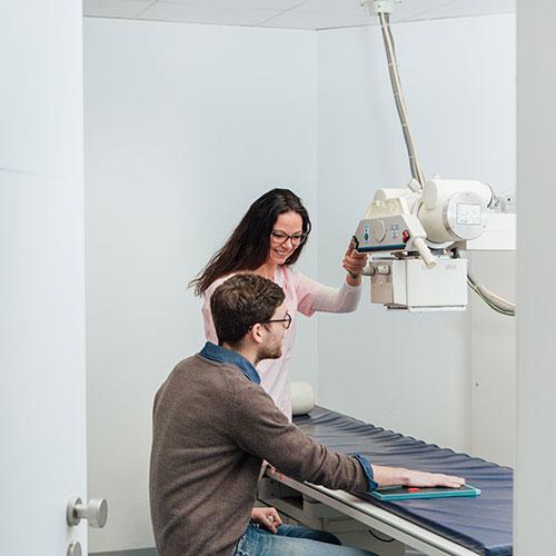 Orthopädie Dinslaken - Praxis - Röntgen