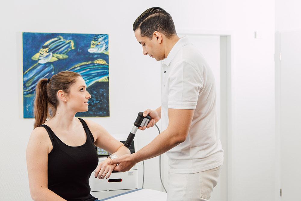 Orthopädie Dinslaken - Stoßwellentherapie