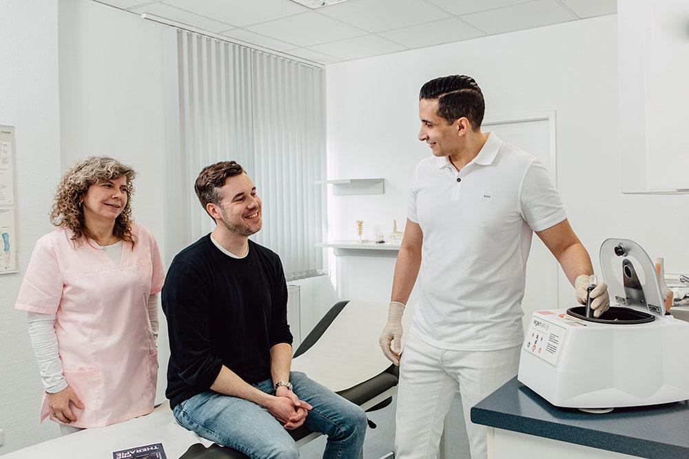 Orthopädie Dinslaken - PRP - Vorteil